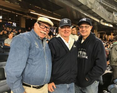 Tim , Peter and Rich @ NY Yankee Game (September, 2019)